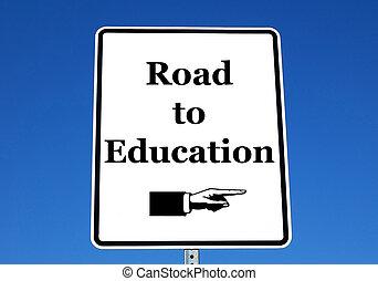 straat, opleiding