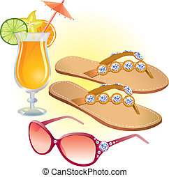 strand, accessoires