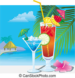 strand, cocktails