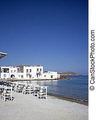 strand, restaurant