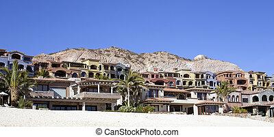 strand, villas