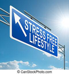 stress, lifestyle., kosteloos