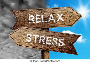 stress, of, verslappen