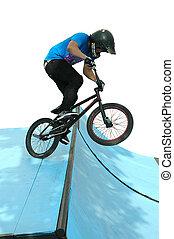 stunt, fiets