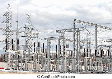 substation, stroom
