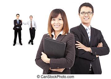 succes, aziaat handel, team