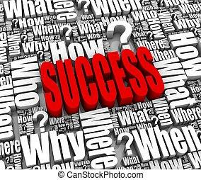 succes, strategie