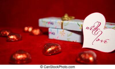 suikergoed, dag, 4k, cadeau, valentine