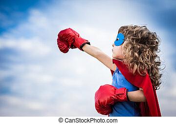 superhero, geitje