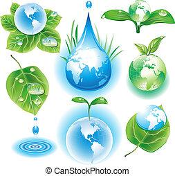 symbolen, concept, ecologie