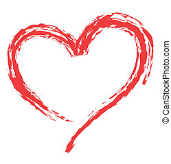 symbolen, hart gedaante, liefde