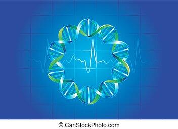 symbolen, medische illustratie