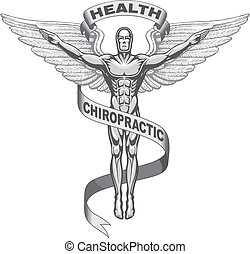 symbool, chiropraktijk