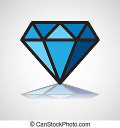 symbool, diamant