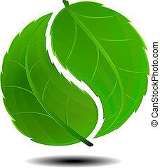 symbool, groene