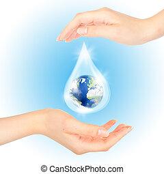 symbool, sparen, planet.