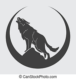symbool, wolf