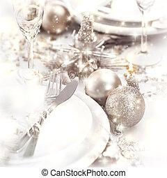tafel, christmastime, vatting
