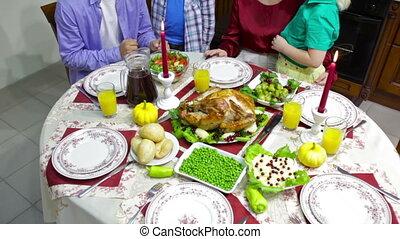 tafel, gezin