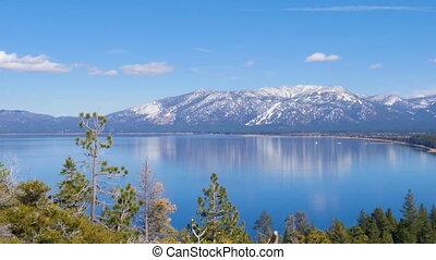 tahoe, meer, landscape