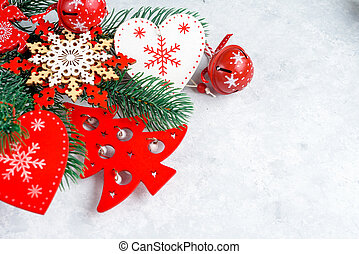 tak, plek, engel, tekst, hart, achtergrond, kerstmis, rood