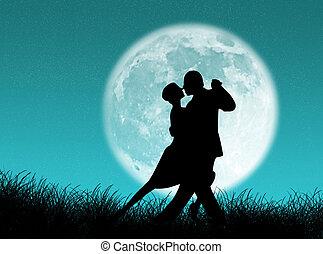 tango, maan