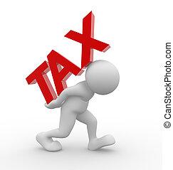 """""""tax"""", woord"""