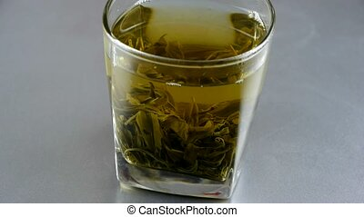 tea., groene, kop