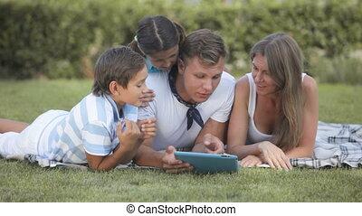 technologie, gezin