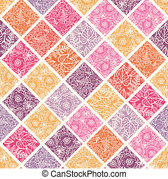 tegels, model, seamless, achtergrond, floral, mozaïek