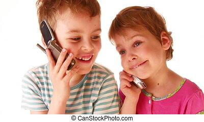 telefoon, kinderen
