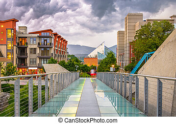tennessee, downtown, chattanooga, usa