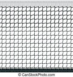 tennis, seamless, net