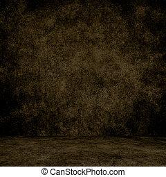 texture., muur, grunge, interieur, ontworpen, vloer, achtergrond