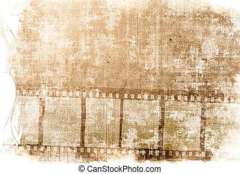 texturen, groot, ruimte, tekst, frame, achtergronden, jouw, -with, strook, beeld, film