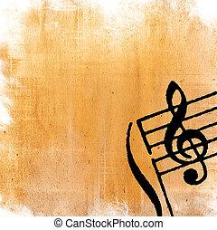 texturen, perfect, grunge, ruimte, achtergronden, abstract, -, of, achtergrond, tekst, melodie, beeld