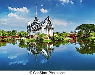 thailand, sanphet, prasat, paleis