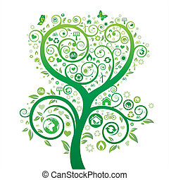 thema, natuur, milieu, ontwerp