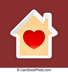 thuis, liefde
