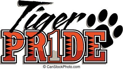 tiger, trots