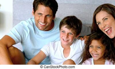 tijd, samen, gezin, uitgeven