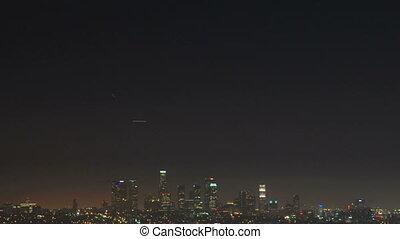 tilt, urb-0010-downtown, la, nacht
