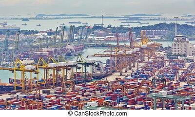 timelapse, porto, singapore