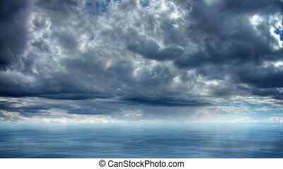timelapse, zee, paradijs