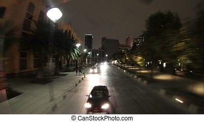 timen-afloop, grit, toerist, stad bus, mexico