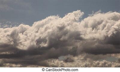 timen-afloop, wolken, &, goobye, meldingsbord, groene, voorbijgaand, straat
