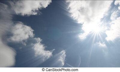 timen-afloop, wolken