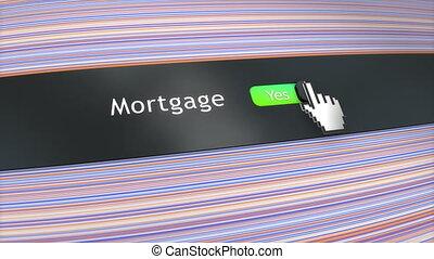 toepassing, vatting, hypotheek