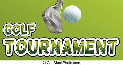 toernooi, golf