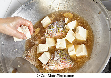 toevoegen, tofu